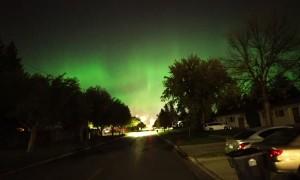 Beautiful Aurora Display Dances Above North Dakota
