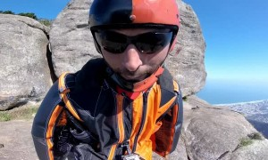 Wingsuit Flight With Treetop Waiting Time