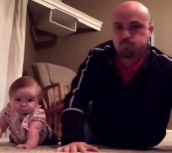 This Father Daughter Work Out Is The CUTEST Thing You Will See Today