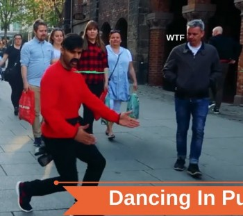 WATCH WHAT HAPPENS WHEN BOLLYWOOD HITS THE STREET!