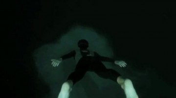 This Incredible Underwater Basejump Into A 700ft Abyss Will Have You Gasping For Air
