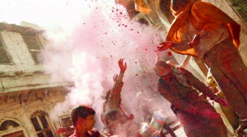 This Slow Motion Holi Footage Will Blow You Away!