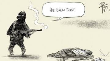 14 Incredibly Moving Cartoons From Artists Responding To The Paris Shooting