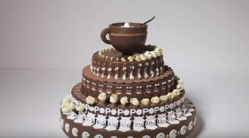 This cake creates magic when spins...Watch this never seen before spining cake