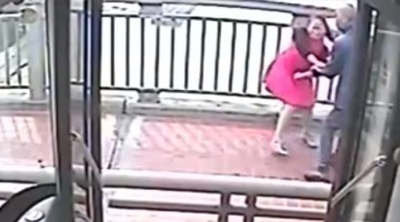 Watch bus driver saving girl from committing suicide