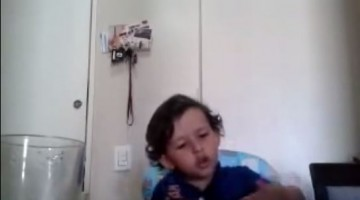 This Kid will force you to become vegetarian, watch and find out the cute message