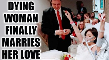 Breast Cancer patient marries her lover on her last day - checkout