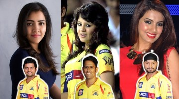 CSK: Wives of Chennai Super Kings Players