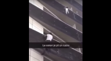 You Must-Watch This Man Climbing Four Stories In Seconds To Save A Toddler.