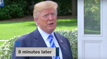 Trump Calls Kim Jong\'s Letter \'Very Nice\' But 8 Minutes Later Says He Hasn\'t Opened It