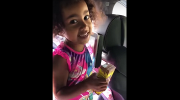 Must Watch How Cutely North West Is Singing Kanye West\'s Song
