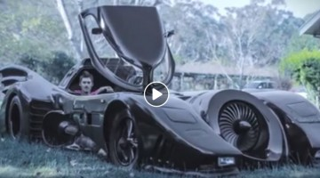 Man Builds Iconic Batmobile In Two Years
