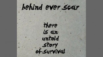 Be PROUD of your scars: Because...