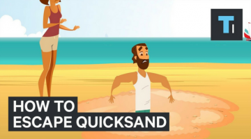 How To Escape A Quicksand?