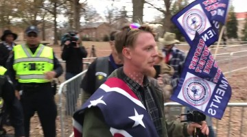 Silent Sam supporters escorted away by police after standoff at UNC-Chapel Hill