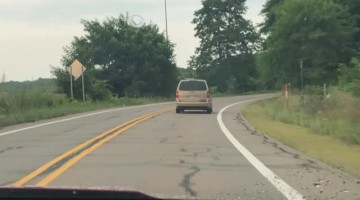 Minivan with a Bouncy Backend