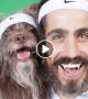 Woah! Man And His Dog Dress Alike And Look So Similar