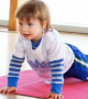 Cute 2 Year Old Yoga Teacher!!
