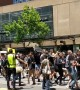 Students take part in climate change protest on streets of Melbourne