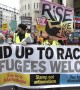 """Hundreds join """"yellow vest' inspired march through London to call for general election"""