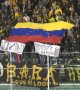 'Venezuela Resist': Soccer fans in Bolivia make political statement