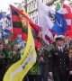 St. Patrick's Day Parade held in London attended by thousands