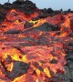 Mesmeric lava appears to flow in slow-motion on Hawaii mountain