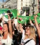 Mass demonstration in Madrid, Spain for the International Day of Action for Women's Health