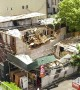 Condemned Manhattan building partially collapses