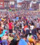 Tens of thousands flock to Scarborough to make most of UK heatwave