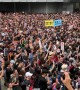 Huge crowds attend latest anti-government protest in Hong Kong