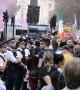 Hundreds protest Boris Johnson outside Downing Street in London