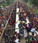 Time-Lapse of Bangladeshi Train Boarding