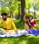 When aloo, gobi and roti went to a park